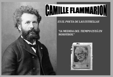 Camille Flammarion Posing