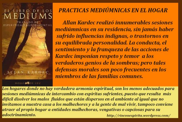 EL LIBRO DE LOS MEDIUMS (Allan Kardec)
