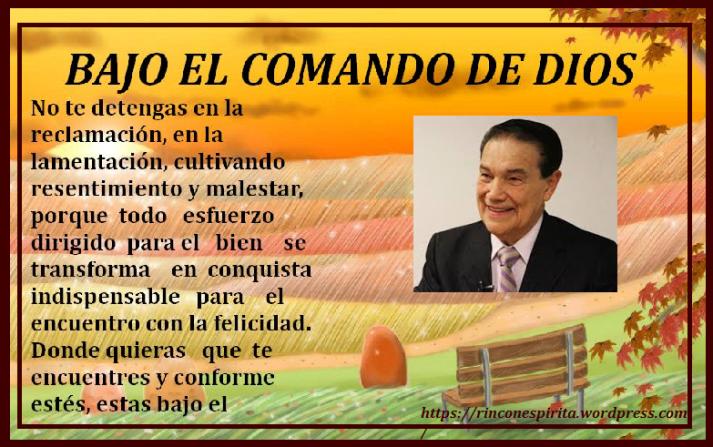 BAJO EL COMANDO DE DIOS