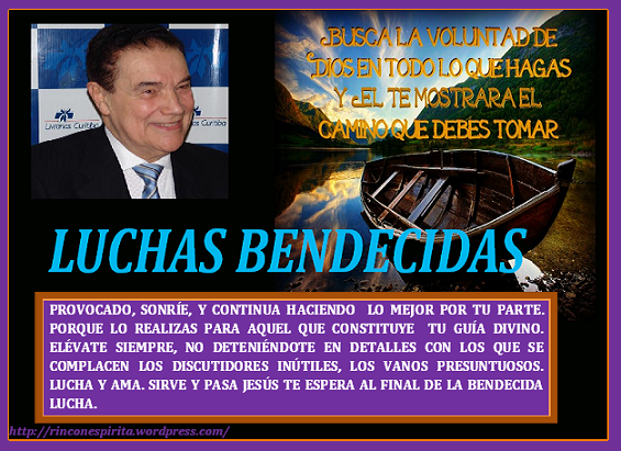 LUCHAS BENDECIDAS. (DIVALDO PEREIRA FRANCO)