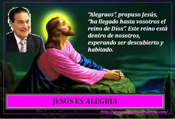 ALEGRATE CON JESUS  (DIVALDO FRANCO)
