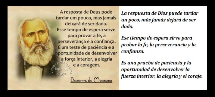FRATERLUZ - A Resposta de Deus - Bezerra de Menezes