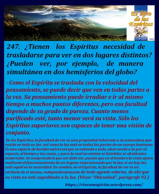 LIBRO DE LOS ESPIRITUS 247