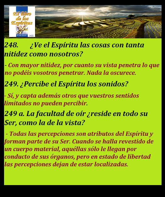 LIBRO DE LOS ESPIRITUS 249 A
